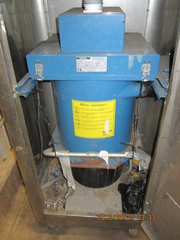 Units Dammsugare Mercur, högtryckstvätt, svängarm och 2