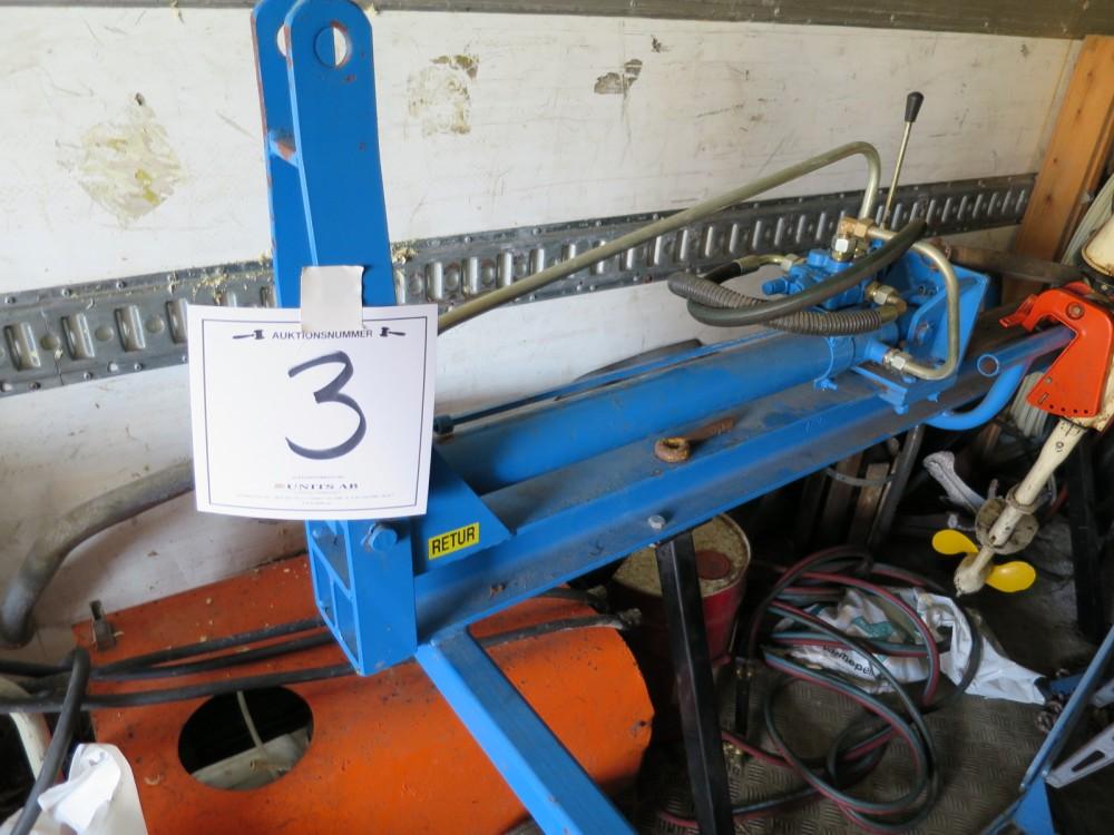 Omtyckta Units - Vedklyv hydraulisk för traktor JY-77